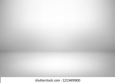 Abstract grey background. Empty room with spotlight effect. Vector EPS10 Graphic art design.