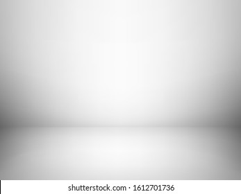 Abstract grey color tone background. Empty room with spotlight effect. EPS10 vector graphic art design.