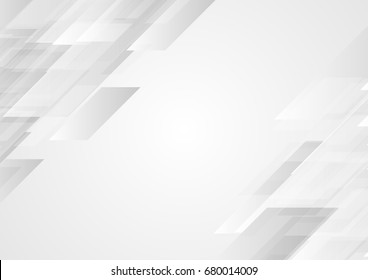 Abstract grey hi-tech corporate background. Vector design