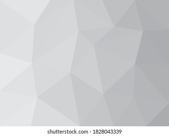 abstract grey in low polygon background