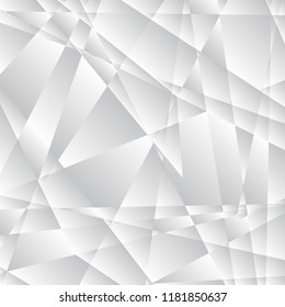 Abstract grey triangle background.