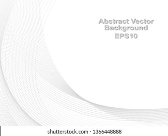 Abstract grey white  lines pattern for your ideas, template background texture