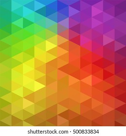 Abstract grid mosaic background