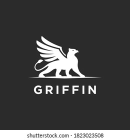 abstract griffin logo. griffin icon