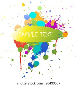 Abstract grunge background with place for your text
