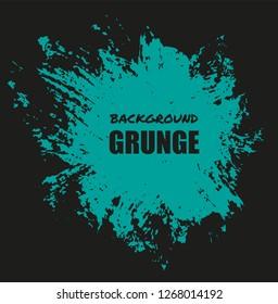 Abstract grunge banner.Brush stroke background.