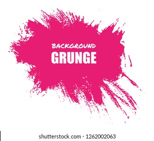 Abstract grunge brush stroke background