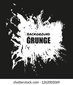 Abstract grunge brush stroke background