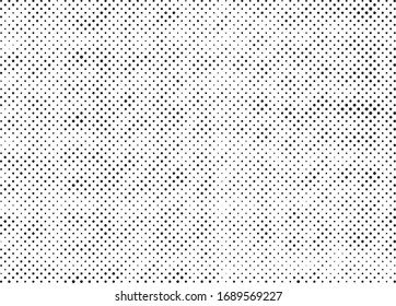 Abstract grunge halftone dots texture background. Modern dotted template vector illustration for design, covers, web sites, banners. Retro background, pop art style.