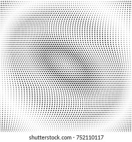 Abstract grunge halftone dots texture back-ground. Modern dotted template vector illustration for design, covers, web sites, banners