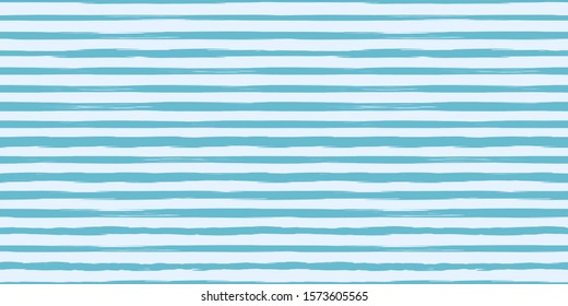 Abstract grunge stripped horizontal pattern Coral Blue color