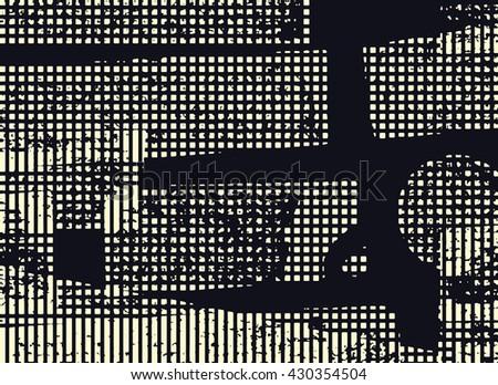 Grunge Camera Vector : Abstract grunge vector background horizontal monochrome stock vector