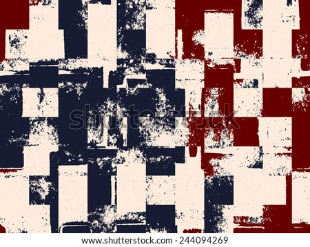 Grunge Camera Vector : Abstract grunge vector background twotone composition stock