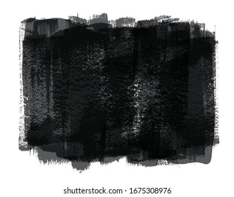 Abstract grunge watercolor paint brush background.