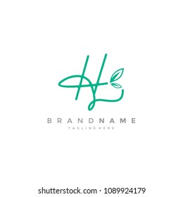 Abstract H Logo Design Template