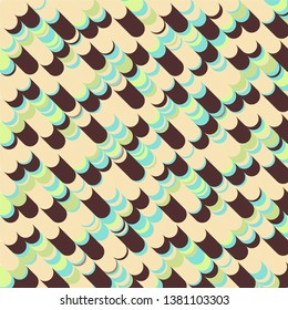 Abstract halftone background pattern. Geometric colorful vector line illustration