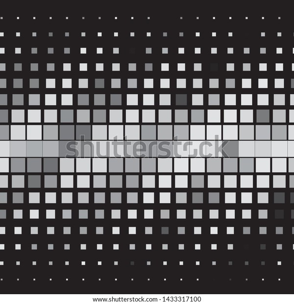 Abstract halftone background pattern. Monochrome geometric vector line illustration