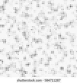 Abstract halftone background. Print modern stylish texture. Seamless pattern.