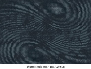 Abstract Halftone Background, Retro Engraving Style. Vector Illustration