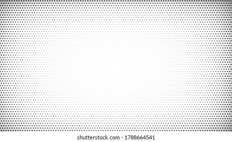 abstract halftone background with vignette effect style