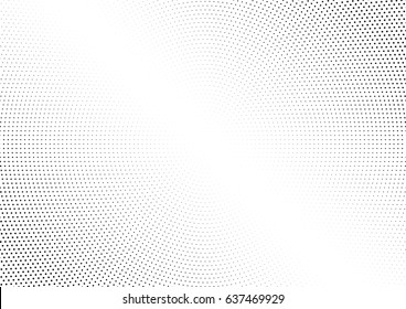Abstract halftone dotted background. Monochrome pattern with dot and circles.  Vector modern futuristic texture for posters, sites, business cards, postcards, interior design, labels and stickers