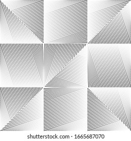 Abstract halftone lines light background, minimal geometric dynamic pattern, vector modern design texture.