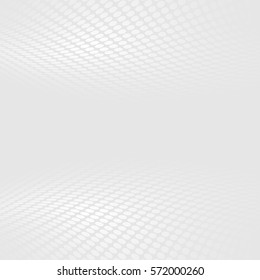 Abstract halftone perspective background. Ideal for banner or brochure cover design.
