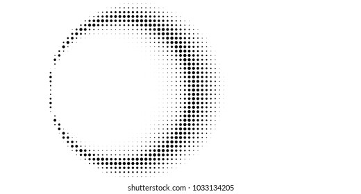Abstract Halftone Texture With Dots Vector Modern Background For Posters Websites Web