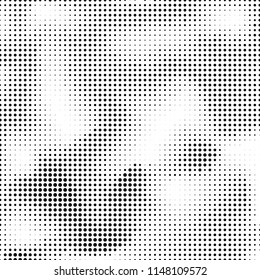 Abstract halftone texture. Vector. Modern background for posters, websites, web pages, business cards, postcards, interior design. Punk, pop, grunge in vintage style. Minimalism.
