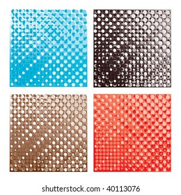 Abstract halftone vector Backgrounds