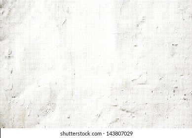 Abstract Halftone Vector White Background