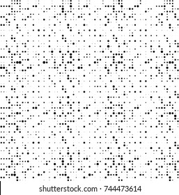 Abstract halftone wave dotted background. Futuristic twisted grunge pattern, dot, circles. Vector futuristic texture for posters, sites, business cards, postcards, interior design, labels.