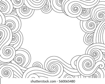 coloring border pages for kids | Children Border Images, Stock Photos & Vectors | Shutterstock