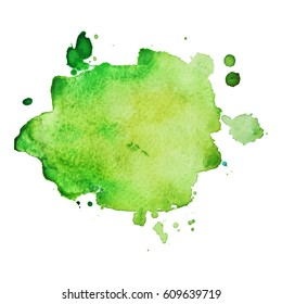 Abstract hand drawn watercolor background. Vector illustration. Grunge texture for cards and flyers design.