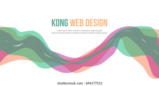 Abstract header website simple design background