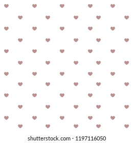 Abstract heart seamless pattern background. Hand drawn geometric heart isolated, invitation, album, sketch book, scrapbook