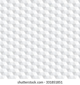 abstract hexagon white tone seamless pattern, illustration vector