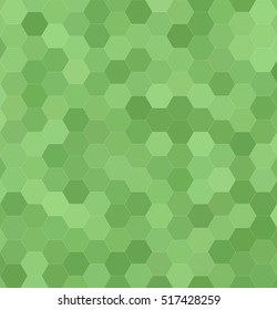 Abstract hexagonal tile mosaic background design - vector illustration
