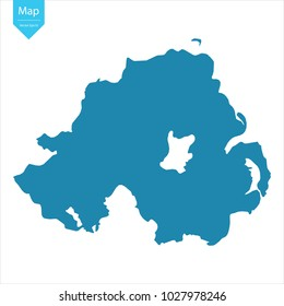 Map Of Ireland Northern Ireland.Northern Ireland Map Images Stock Photos Vectors Shutterstock