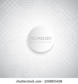 Abstract high tec background with lattice design