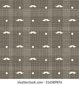 abstract hipster seamless polka dot pattern on texture background