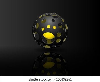 abstract holed sphere