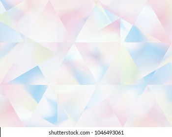 Abstract holographic background. retro style. Futuristic holographic. Wonderful background in Holographic Foil. Modern surface design style. Packaging wrap paper. Banner, greetings card, poster