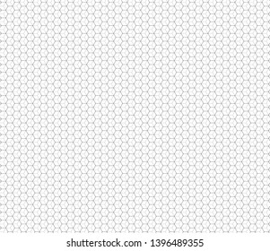 Abstract honeycomb background modern seamless pattern vector