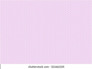 Abstract honeycomb vector background
