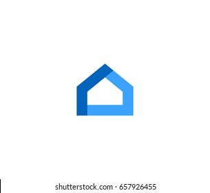 Abstract House vector logo