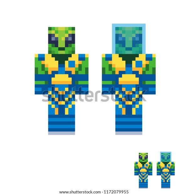 Abstract Humanoid Low Poly Cubism Fantastic Stock Vector
