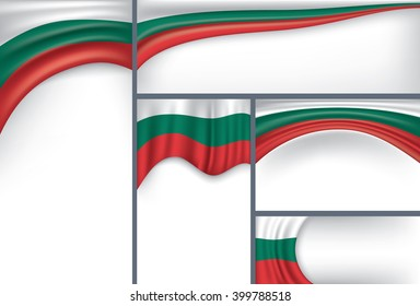 Abstract Hungary Flag, Hungarian Colors (Vector Art)