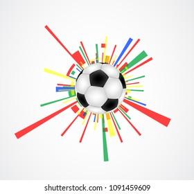 Abstract illustration ball