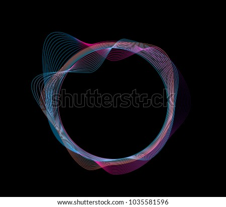 Abstract illustration of circle